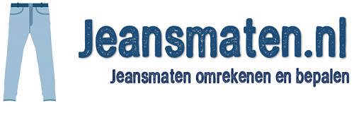 Jeansmaten berekenen logo